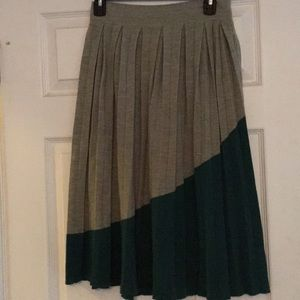 NWT Anthropologie midi skirt